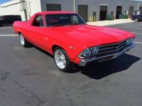 1969 Chevy El Camino (CA) - $44,900 OBO This Torch Red