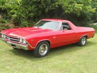 1969 Chevy El Camino for sale (TN) - $31,500. 1969