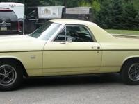 Chevy El Camino SS. For Sale is a RARE 1969 El Camino