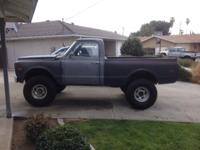 I have a 1969 k20 CST 4x4 that was shortened and