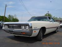 1969 Chrysler Newport Custom. All original, car runs
