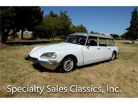 This 1969 Citroen DS Safari Wagon (Stock # F1103) is