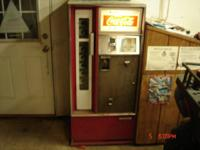 Selling my 1969 coke machine made by Cavalier. The