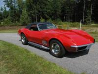 A very good find for Corvette Lovers. 1969 Corvette