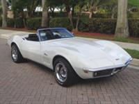 The last of the 60's High Horsepower Corvettes are one