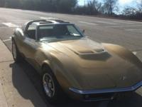 1969 corvette stingray coupe 427/390 4 speed L36 C3