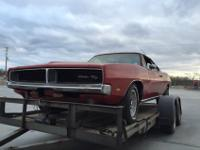 69 Charger RT Tribute, fresh Alabama barn find. Running