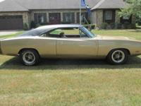 1969 Dodge Charger R/T CLONE. Originally came with a