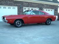 SUPER NICE RESTORED RARE 1969 DODGE CHARGER 500 WITH