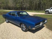 Selling my 1969 Dodge Charger R/T. It has its born with