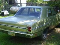 I have a 1969 dart auto 225 slant 6. runs moves and