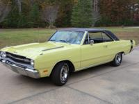For Sale is my 1969 Dodge Dart GTS.  Registered in the