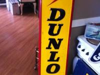 We have a 1969 DUNLAP Tires Metal Sign! Its in great
