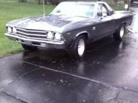 1969 El Camino Project car Perfect car to restore This