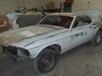 1969 Fastback Mustang. The only rust this car has is