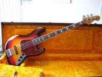 Up for grabs is my 1969 Fender Jazz reproduction custom