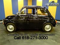 For sale is a 1969 Fiat 500 L. This little machine is