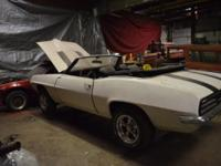 If you provide the materials to paint, 1969 Firebird