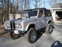 1969 Ford Bronco, complete ground up restore, full