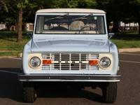 1969 FORD BRONCO~4X4~302 V8 (REBUILT)3-SPEED ON THE