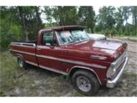 This is a 1969 Ford F 100 Classic Truck available in an