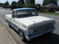 This is a completely Original 1969 Ford F 100 Custom