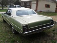 Extremely nice 1969 ford ltd. Low miles app 62,000. Has