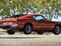 This 1969 Ford Mustang Mach1 comes with it's deluxe