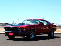1969 Ford Mustang   This is a real, 428 Super Cobra Jet