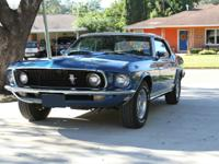 1969 Mustang GT S-Code Convertible.  This car is 1 of