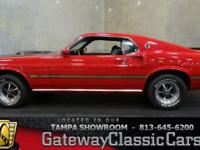 Stock #568-TPA 1969 Ford Mustang Mach 1  $64,995