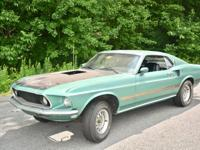 1969 Mustang Mach1 Super Cobra Jet is essentially an