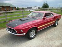 BEAUTIFULLY RESTORED # MATCHING MACH 1 H CODE. THIS IS