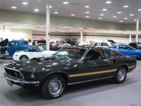The Ford Mustang Mach 1 was a performance model of the