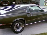 1969 Ford Mustang Mach I. This car was originally in