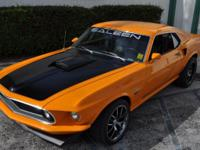 1969 MUSTANG CUSTOM BUILT OVER A 2005 MUSTANG SALEEN