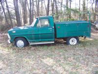 1969 Ford p/u with utility bed.I bought this truck a
