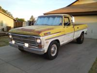 Available for sale 1969 Ford F-250 Camper Special Black