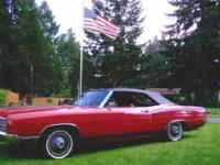 This amazing classic has always been garaged. It is red
