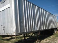 1969 Fruehauf Van Trailer For Sale $2200 + tax 42' x