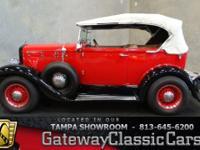 Stock #559-TPA 1969 Glassic Phaeton  $15,995 Engine: