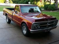 1969 GMC C25 LONGBED pickup truck. 350 V8. One previous
