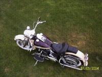 1969 Harley Davidson FLH Electra Glide. Both electric
