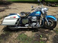 1969 Harley Davidson Electra Glide FLH. Last year of