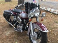 This is a nicely restored 1969 Harley Electra Glide.