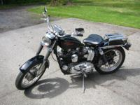 This is a 1969 harley sportster xlch with 15,000