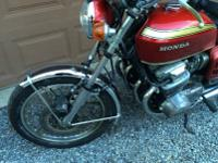 TRUE BARN FIND 1969 HONDA CB750 SANDCAST IN ALL