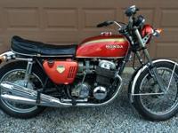 TRUE BARN FIND 1969 HONDA CB750 SANDCAST IN ALL
