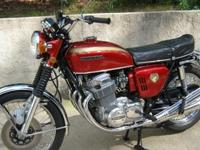 1969 Honda CB 750 K0-Die-Cast. It includes Wrinkle
