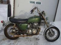 1969 Honda (Sand Cast). This is an old school example